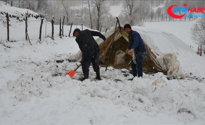 Van ve Muş'ta 45 yerleşim yerinin yolu ulaşıma kapandı