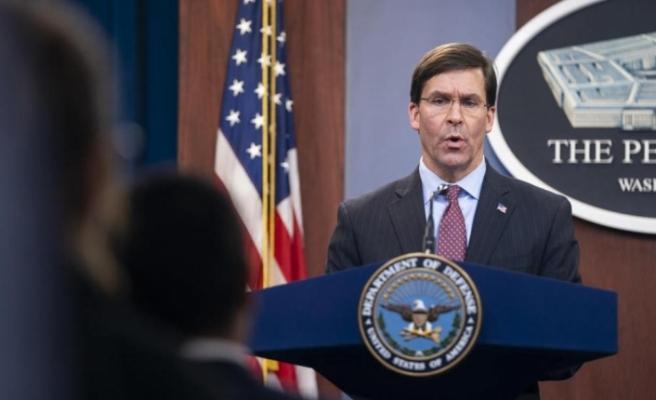 """ABD Savunma Bakanı Esper: """"ABD, İran'la başlayan her savaşı bitirmeye hazır"""""""