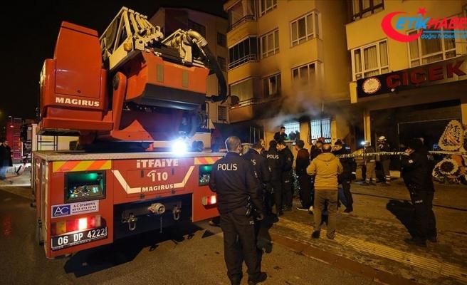 Ankara'da 4 kişinin hayatını kaybettiği yangın elektrikli ısıtıcıdan çıkmış