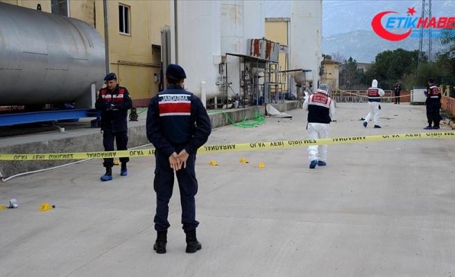 Antalya'da gaz dolum tesisindeki patlamada bir kişi öldü