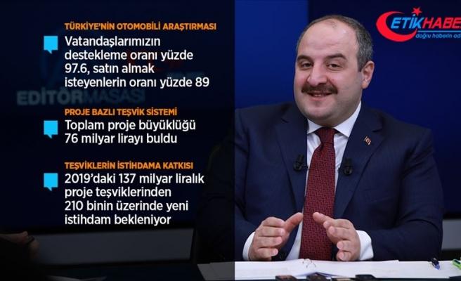 Bakan Varank: Türkiye'nin Otomobili'nin tasarımları için tescil başvuruları yapıldı