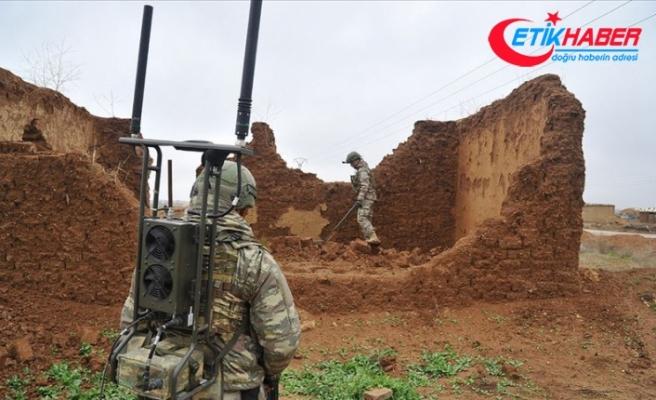Barış Pınarı Harekatı bölgesinde 1660 EYP ve 891 mayın etkisiz hale getirildi