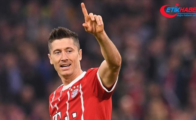Bundesliga'da 'ilk yarının en iyi futbolcusu' Lewandowski