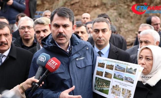 Çevre ve Şehircilik Bakanı Kurum: Hasarın çok olduğu alanlarda Tarımköy uygulamaları yapacağız