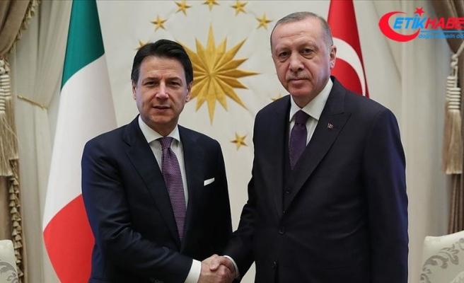 Cumhurbaşkanı Erdoğan, İtalya Başbakanı Conte'yi kabul etti