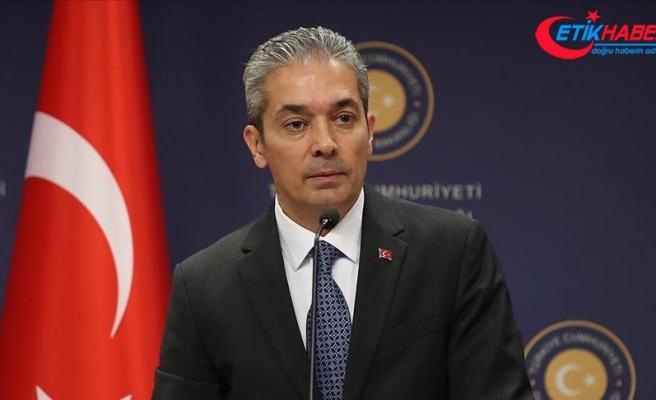 Dışişleri Bakanlığı Sözcüsü Aksoy'dan Mescid-i Aksa'ya giriş yasağı tepkisi: