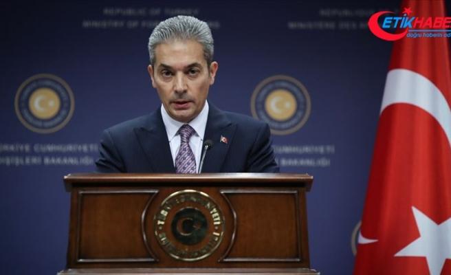 Dışişleri Bakanlığından 'Ege adalarının silahsızlandırılmış statüsü' açıklaması
