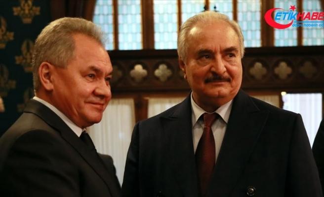 Hafter ateşkes anlaşmasını imzalamadan Moskova'dan ayrıldı