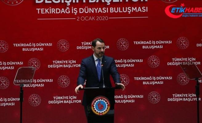Hazine ve Maliye Bakanı Albayrak: İstihdama dayalı büyüme modeliyle değişim sürecini başlatacağız