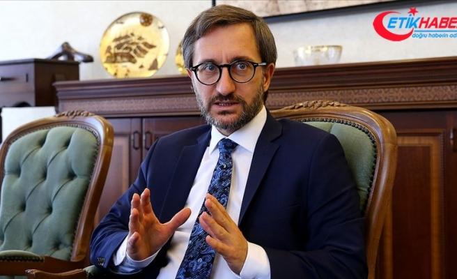 İletişim Başkanı Altun'dan basın kartı açıklaması