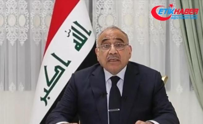 Irak Başbakanı Abdulmehdi: Saldırı, Irak ve bölgede yıkıcı bir savaşın fitilini ateşlemiştir