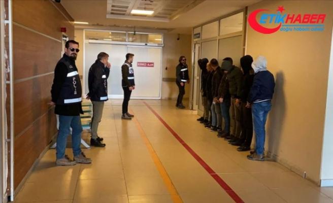 İstanbul'da göçmen kaçakçılığı ve insan ticaretine ağır darbe