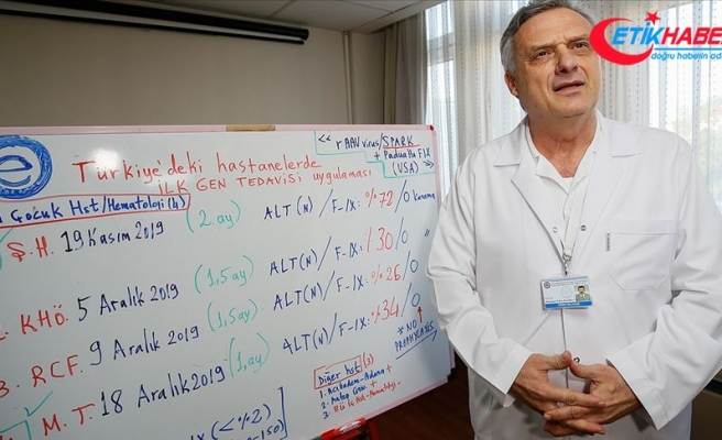 İzmir'de hemofili hastaları için gen tedavisi olumlu sonuç verdi