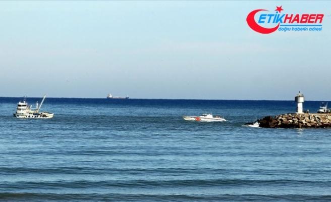 Kilyos açıklarında tanker ile balıkçı teknesi çarpıştı