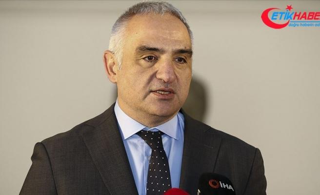 Kültür ve Turizm Bakanı Ersoy: 2020'de 58 milyon turist, 40 milyar dolardan fazla gelir hedefliyoruz