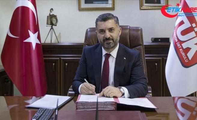 RTÜK Başkanı Şahin: Beyaz Masa vatandaşın sesi