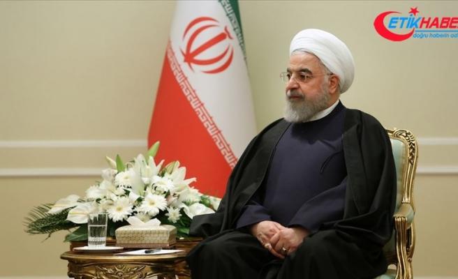 Ruhani: ABD, İsrail'in politikalarını uygulayan bir yönetim haline geldi