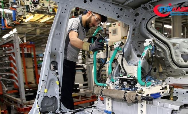 Sanayi üretimi yüzde 5,1 arttı