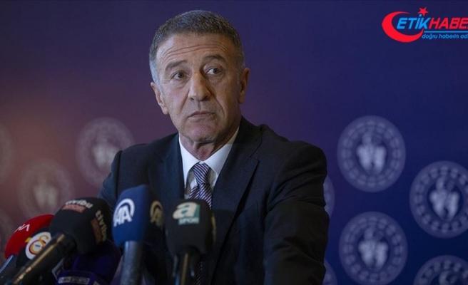 Trabzonspor Başkanı Ağaoğlu'ndan taraftarlara mesaj