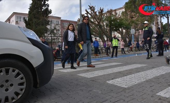 Trafikte yaya önceliği kuralını ihlal edenlere ceza yağdı
