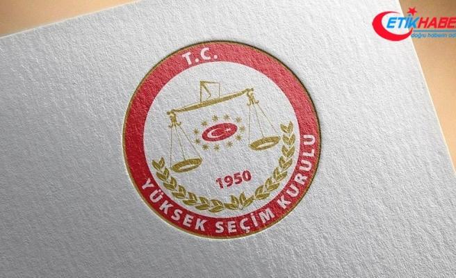 YSK üyeliği seçimlerinde ilk turlar tamamlandı