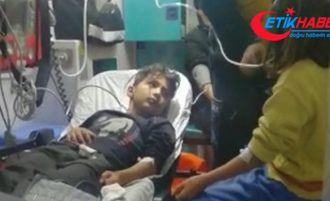 Yüksekova'da sobadan zehirlenen 4 kardeş hastaneye kaldırıldı