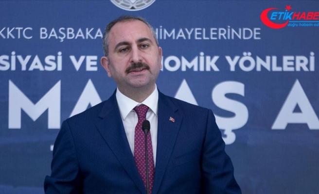 Adalet Bakanı Gül: Kapalı Maraş, Kuzey Kıbrıs Türk Cumhuriyeti toprağıdır