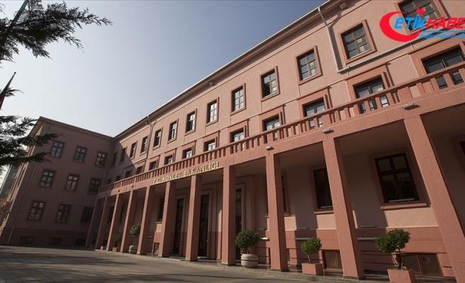 Adalet Bakanlığı Sözcüsü Çekin, bilgilendirme toplantısı düzenledi