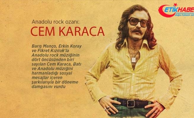 Anadolu rock ozanı: Cem Karaca