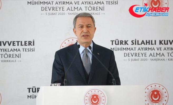 Bakan Akar: TSK her türlü tehdit ve tehlikeye karşı mücadelesini azim ve kararlılıkla sürdürmektedir