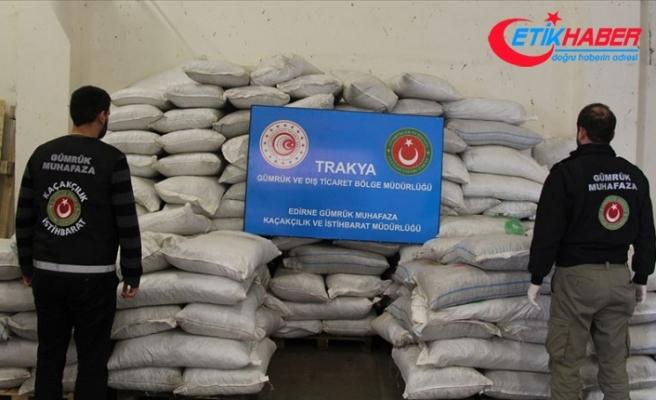 Bakan Pekcan: Kapıkule'de bir operasyonda 2 ton 70 kilogram esrar ele geçirildi
