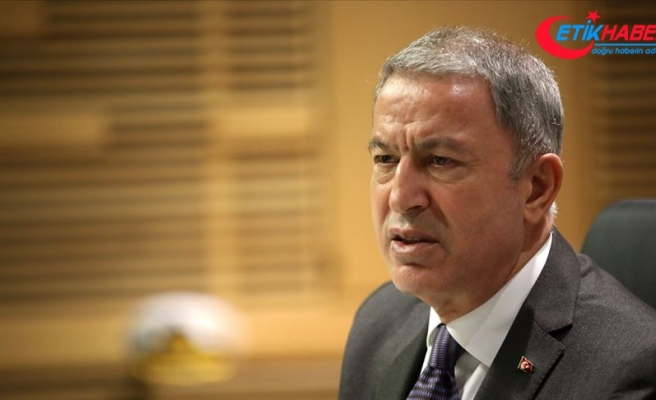 Bakan Akar'dan NATO'ya İdlib için somut destek çağrısı