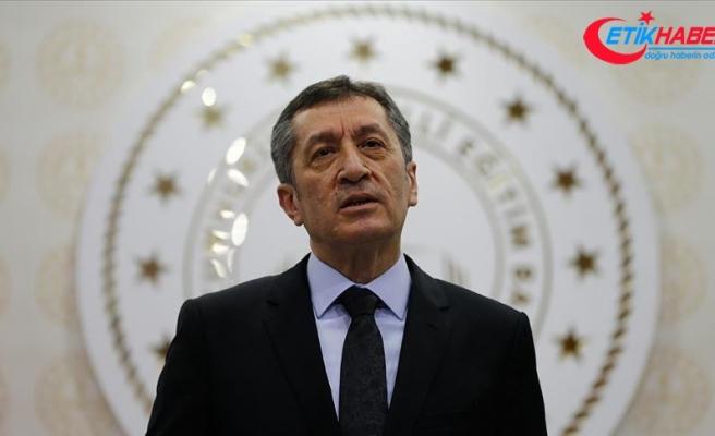 Milli Eğitim Bakanı Selçuk'tan 'korona virüs tedbirleri' açıklaması