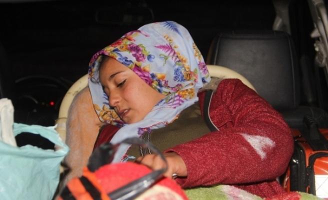 Başkale'de doğum hastası kadın 5 saatte kurtarıldı