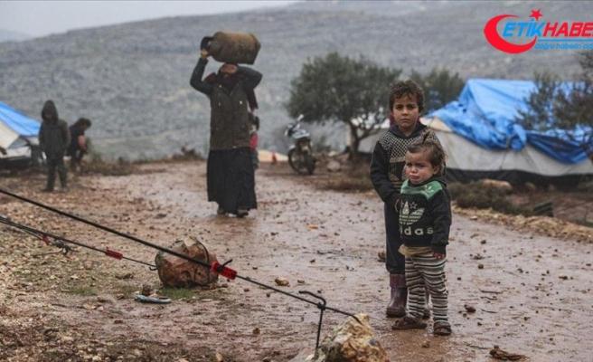 BM'den 900 bin kişinin yerinden edildiği İdlib için ateşkes çağrısı