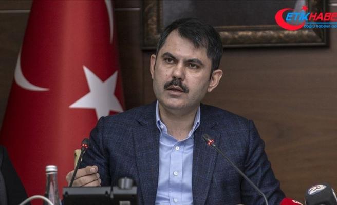 Çevre ve Şehircilik Bakanı Kurum: 201 binanın yıkım işlemleri tamamlandı