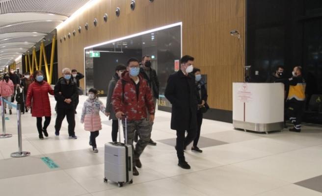Çin seferlerini durduran THY'nin son uçakları İstanbul'a döndü