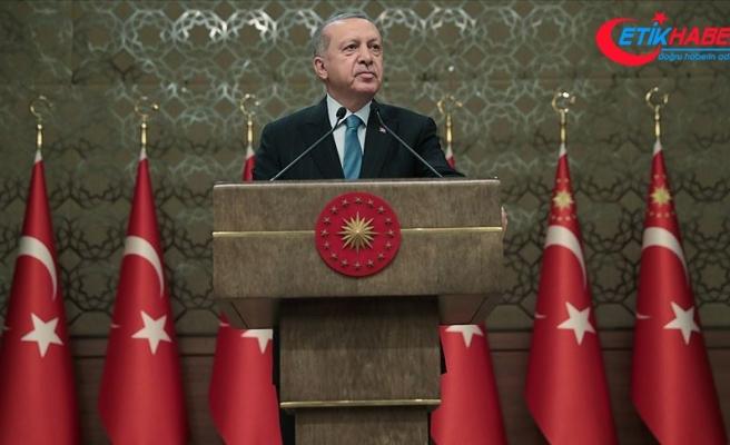 Cumhurbaşkanı Erdoğan: Sözde 'Yüzyılın Planı' hayalden başka bir şey değildir