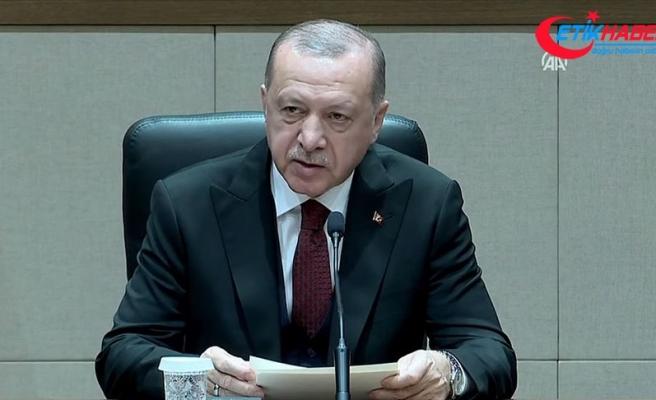 Cumhurbaşkanı Erdoğan, Meclis'te soruları yanıtladı: