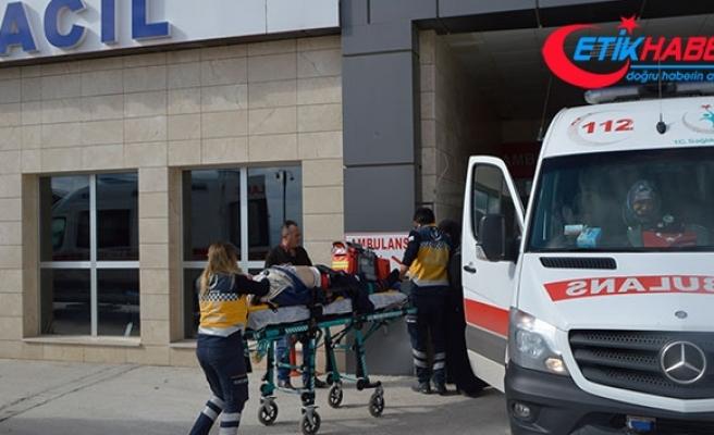 Direksiyon başında kalp krizi geçiren sürücü 3 araca çarptı
