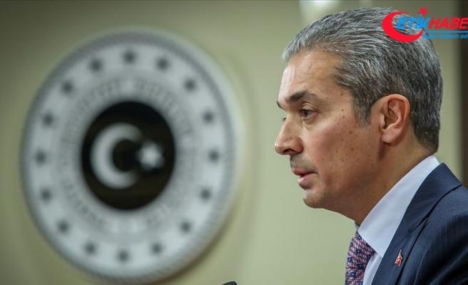 """Dışişleri Bakanlığı Sözcüsü Aksoy'dan Yunanistan'ın """"Ayasofya"""" açıklamasına tepki:"""