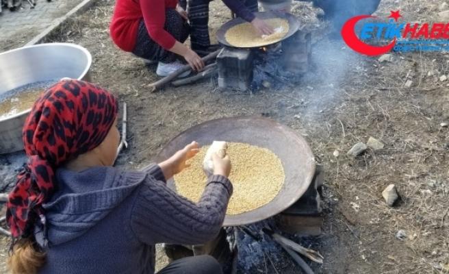 Geçmişi yüzyıllara dayanan geleneksel yemek 'Kavut'