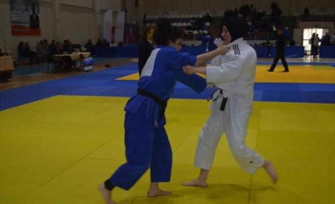 Judo Gençler Türkiye Finali, Afyonkarahisar'da başladı
