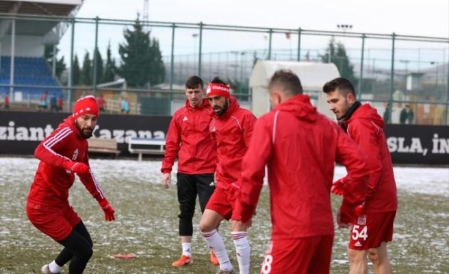 Lider Sivasspor, Gaziantep FK maçına hazır