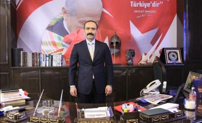 MHP'li Baştuğ: CHP, Türkiye düşmanlarının yuvalandığı zararlı bir cemiyettir