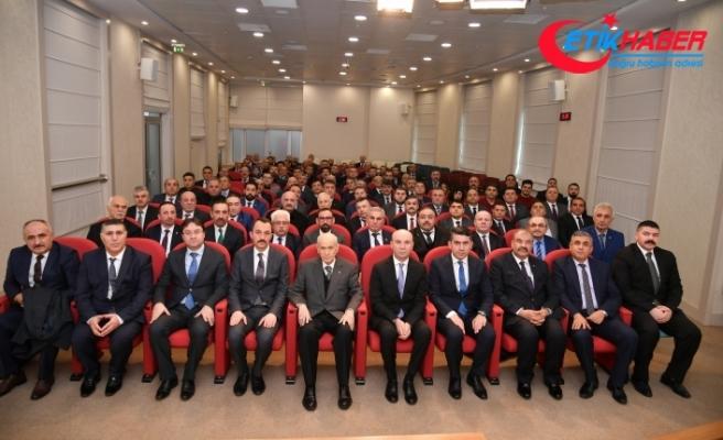 MHP Lideri Bahçeli, Avrupa Türk Konfederasyon Yöneticilerini Kabul Etti