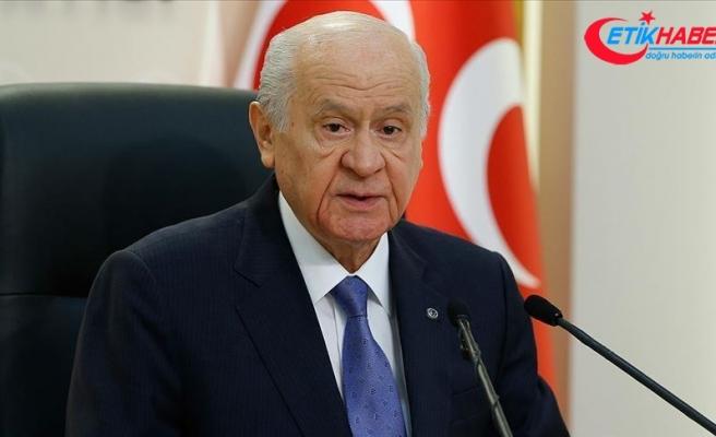 MHP Lideri Bahçeli: Koronavirüs ile mücadeleyi Allah'ın izniyle kazanacağız