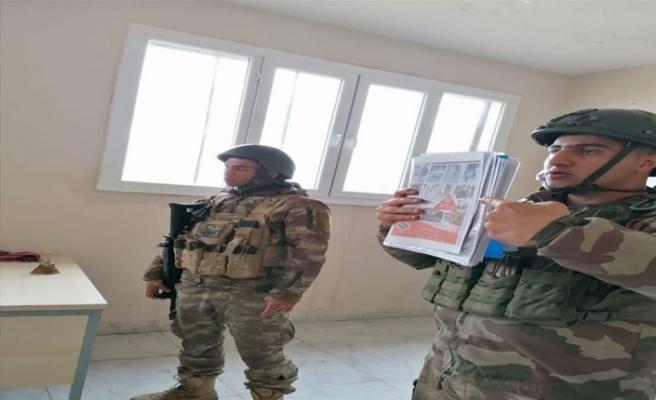 """MSB: """"Barış Pınarı Bölgesindeki çocuklara mayın/EYP'den korunma eğitimi verildi"""""""