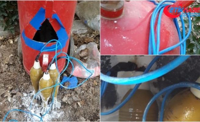 MSB: Rasulayn'da yangın söndürme tüpüne tuzaklanmış EYP imha edildi