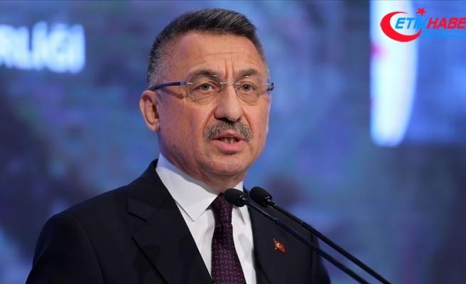 Oktay: Mehmetçiğimiz İdlib'de uluslararası hukuku hiçe sayanlara gerekli cevabı vermeye devam edecek